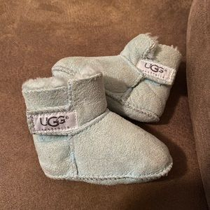 Baby Ugg Booties - Mint Green